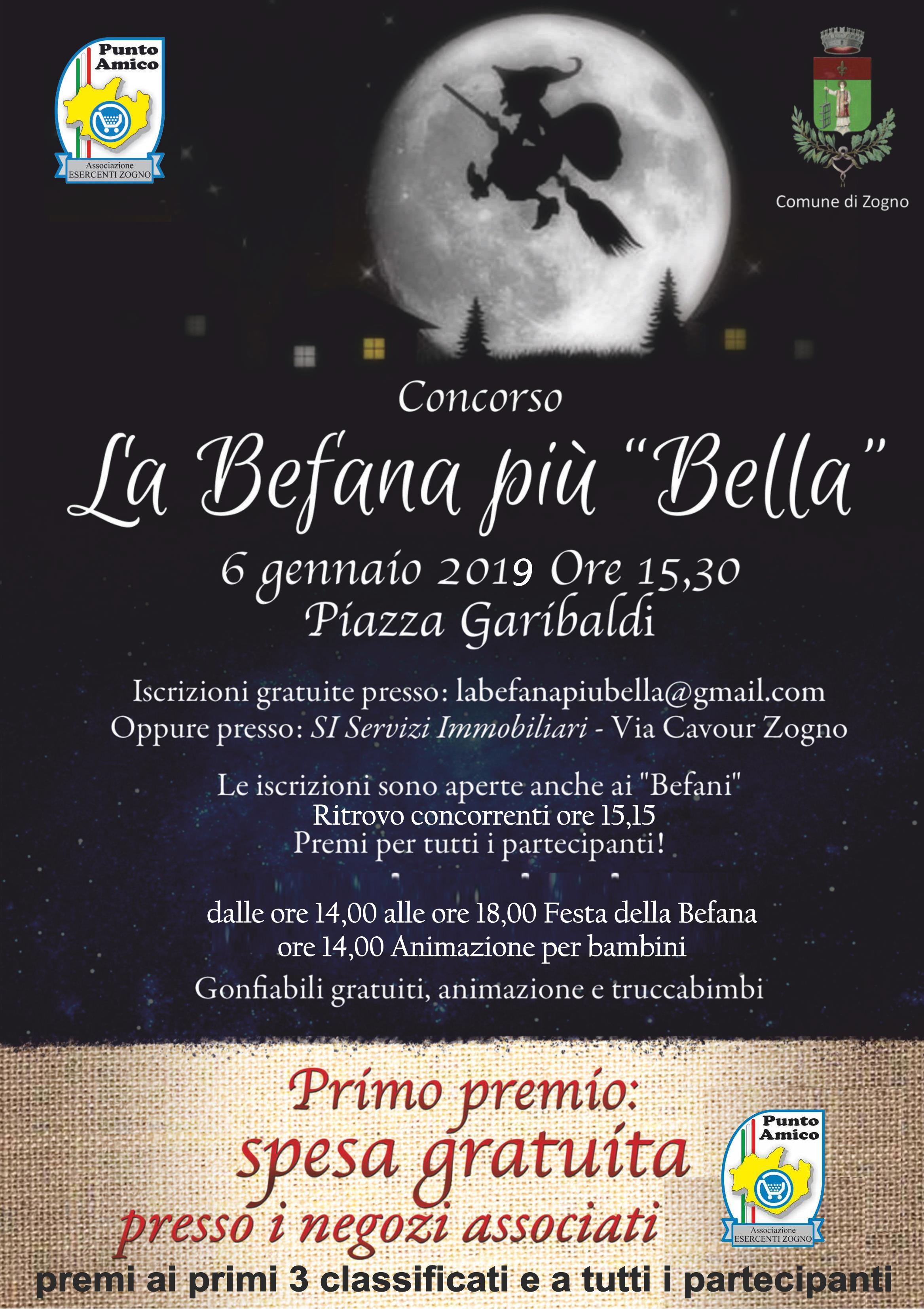 Comune Di Zogno Festa Della Befana 6 Gennaio 2019